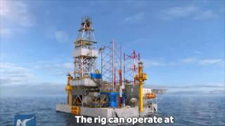 china made jack up rig delivered capable of drilling to 9 000m underwater