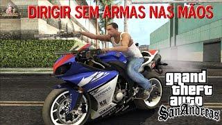 GTA MOD DE DIRIGIR SEM ARMAS NAS MÃOS PARA GTA SAN ANDREAS FULL HD 1080p