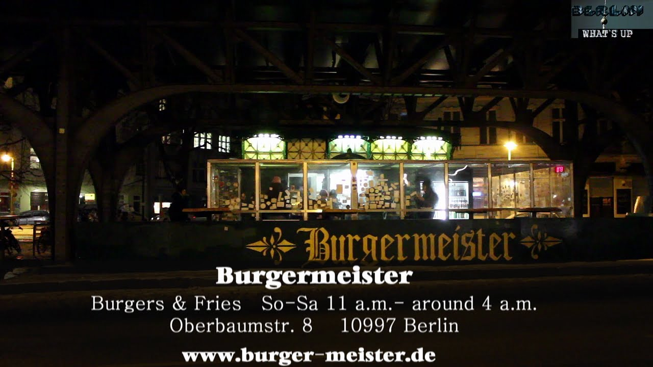 burgermeister videoscout it youtube. Black Bedroom Furniture Sets. Home Design Ideas