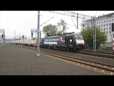 E189-200 LTE w okleinie 'CHENGDU-TILBURG-ROTTERDAM EXPRESS'       MVI 5775
