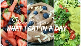 What I Eat in a Day   LOW FAT RAW VEGAN