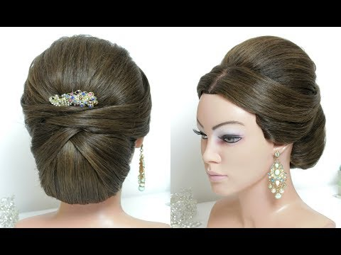 Wedding Prom Updo for Long Hair Tutorial
