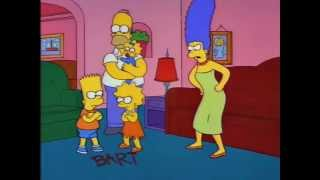 The Simpsons: Bart, Lisa, and Maggie