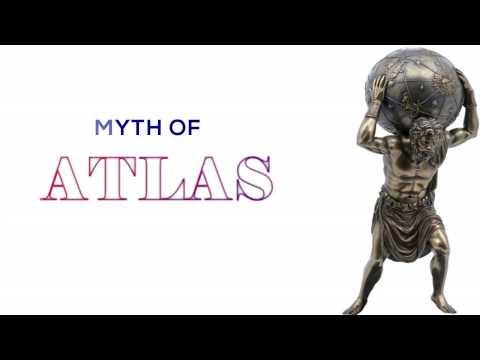 The myth of Atlas - Ο μύθος του Άτλαντα