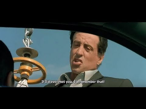 Taxi 3 - Scene With Sylvester Stallone