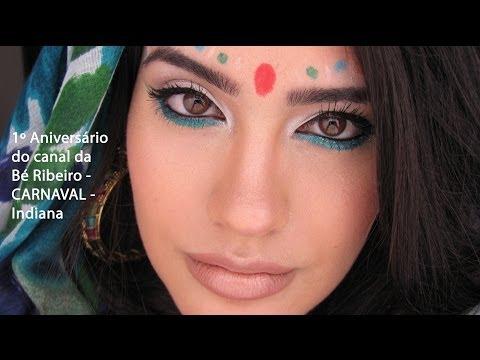 1º Aniversário do canal da Bé Ribeiro - CARNAVAL - Indiana por Beatriz Dâmaso