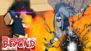 [CODE] BECOMING KID SASUKE IN BEYOND BETA ON ROBLOX | SECRET SHARINGAN COPY??!!