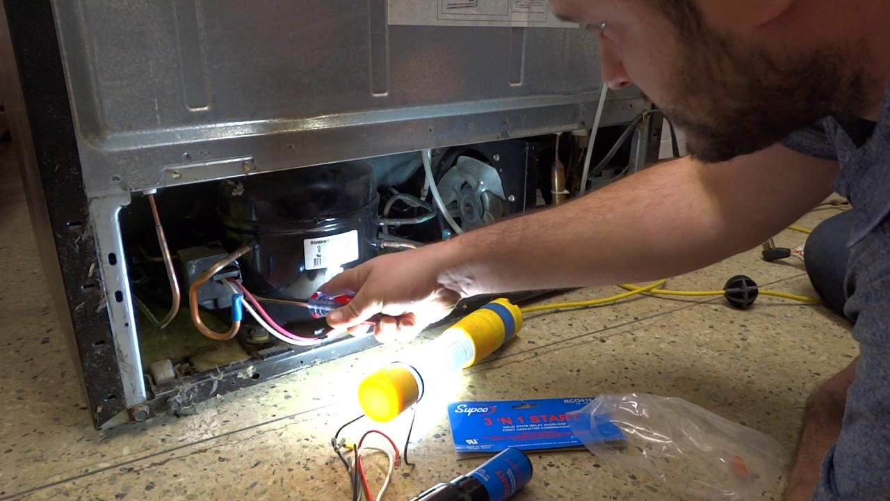 medium resolution of kenmore refrigerator not cooling at all compressor