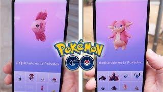 ¡CAPTURO AUDINO y ALOMOMOLA! A por HAPPINY y CHANSEY SHINY en SAN VALENTÍN de Pokémon GO! [Keibron]