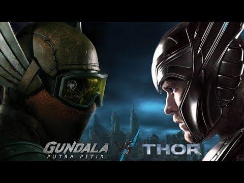 battle-pengendali-petir,-gundala-putra-petir-vs-thor-|-#griview