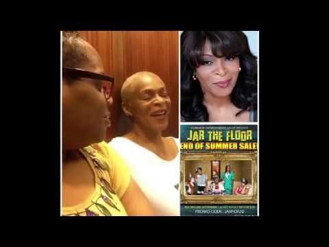 HairSheBuzz with JartheFloor Actress Donna Biscoe Pre exclusive