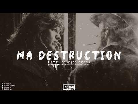 [FREE] Hip Hop Instrumental Rap | Instru Rap Triste/Conscient - MA DESTRUCTION - Prod. by Djee Beats