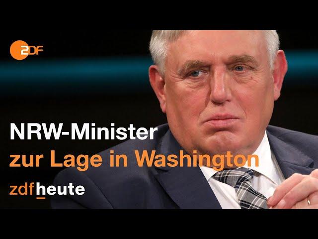 Stimmen zum Sturm auf US-Kapitol | Markus Lanz vom 06. Januar 2021