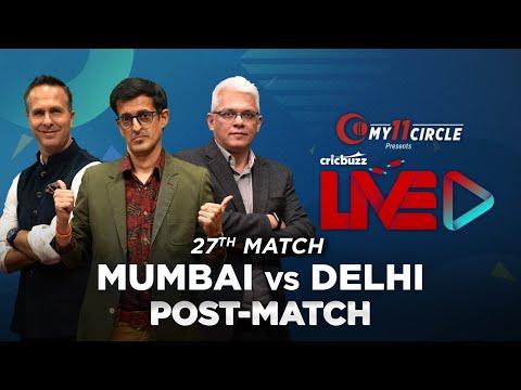 Cricbuzz LIVE:Match 27,Mumbai v Delhi,Post-match show