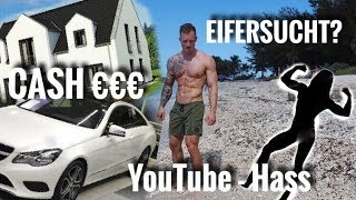 Über Immobilien, Eifersucht, YouTube Hate, Knebelvertrag & Co - Schmale Schulter