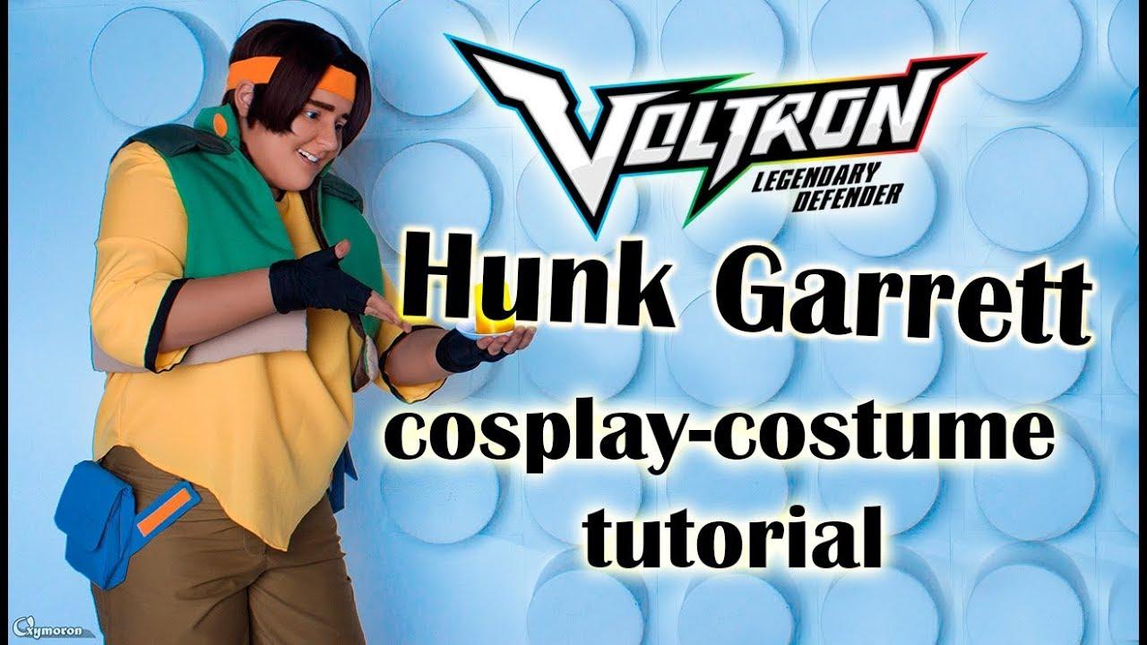 Limm Voltron Legendary Defender Hunk Cosplay Costume Tutorial