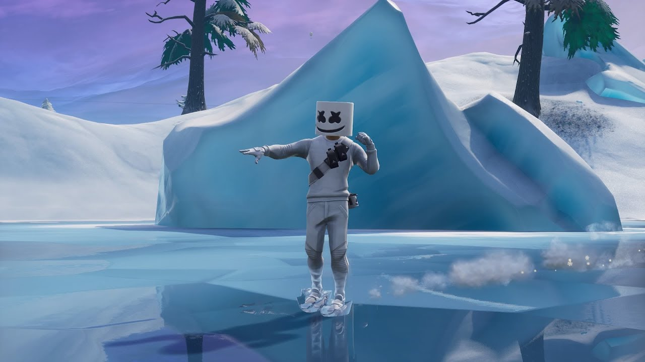Fortnite Br Use Keep It Mello At A Trucker S Oasis Ice Cream