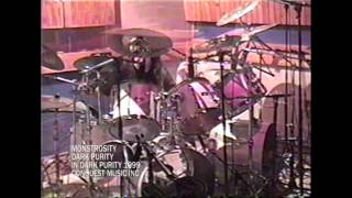 "Monstrosity - ""In Dark Purity"" Drum Session 1998 - (Hymns Of Tragedy, Dark Purity, Perpetual War)"