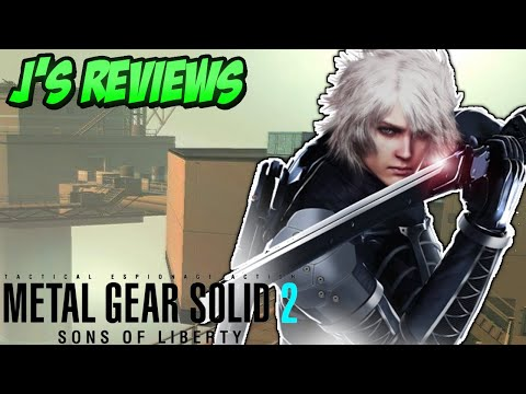 Metal Gear Solid 2 Sons of Liberty - An Existential Leap Forward (Ft. The Side Quest Gamer)