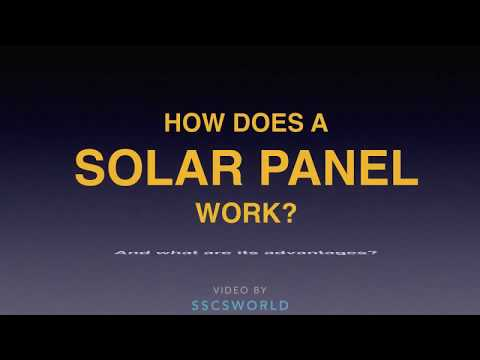 How does Solar Panels Generate Electricity