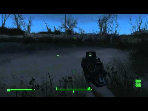 Fallout 4: Secret Power Armor at the University Point Lake