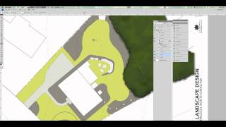 Site Plan Rendering In Photoshop