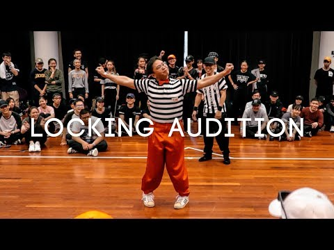Locking Auditions | NTU Funk Jam 2017