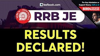 RRB JE Result 2019 Declared! | Check RRB JE Cut Off 2019 for CBT 1 | RRB JE CBT 2 Exam Date