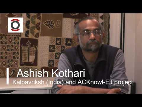 Debat ODG: Ashish Kothari. Vikalp Sangam.