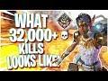 THIS Is What 32,000+ KILLS On Lifeline Looks Like (Apex Legends PS4)