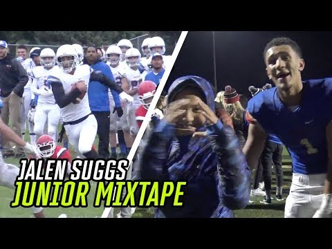 Jalen Suggs Is The Best TWO-SPORT Athlete In The COUNTRY! Full Junior Year Football Highlights 🦄