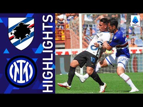Sampdoria Inter Goals And Highlights