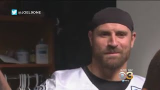 Eagles' Chris Long Jokes About Winning Mega Millions