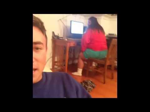 bbw girl fart