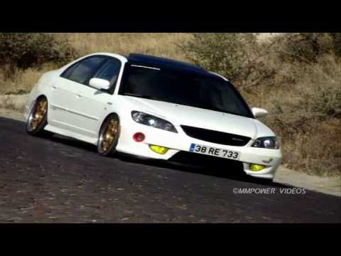Honda Civic ES7 JDM White Video By MMPower   YouTube