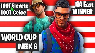 100T Ceice 100T Elevate Fortnite World Cup NA East Winners [Fortnite World Cup Highlights 2019]