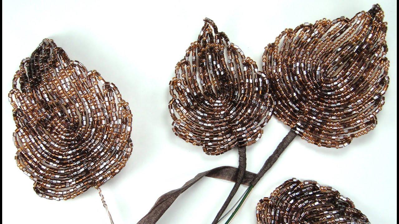 голландская роза из бисера схема плетения