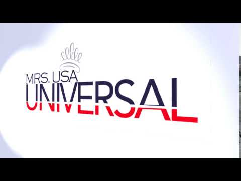 Title Sequence for Mrs. USA Universal
