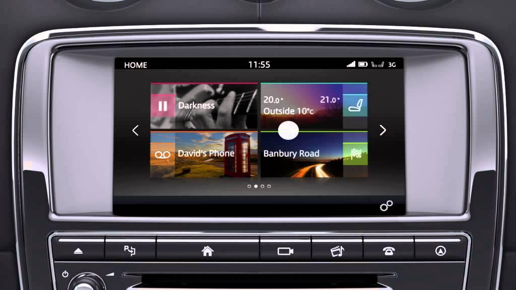 Elegant Jaguar XJ 2016  InControl Touch Pro Extra Features  YouTube