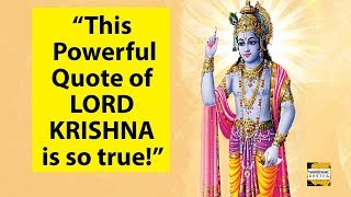 Lord Krishna Powerful Quotes iฑ English That Will Change Your Life