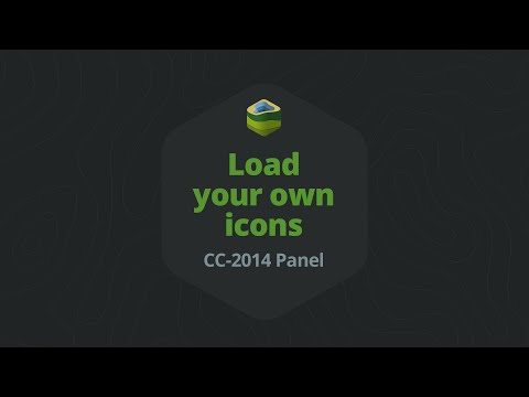 Load Your Own Icons Into The Icon Library - CC-2014 Panel Version