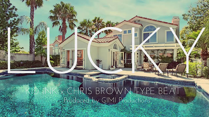 new kid ink x chris brown type beat  lucky gimi productions
