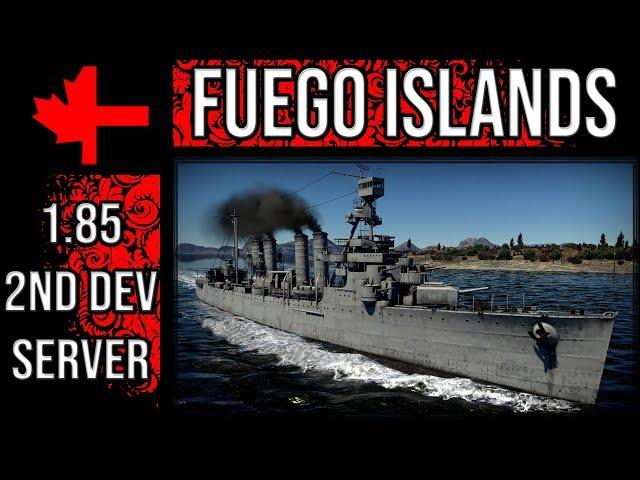 War Thunder 2?? Dev Server - Update 1.85 - Fuego Islands