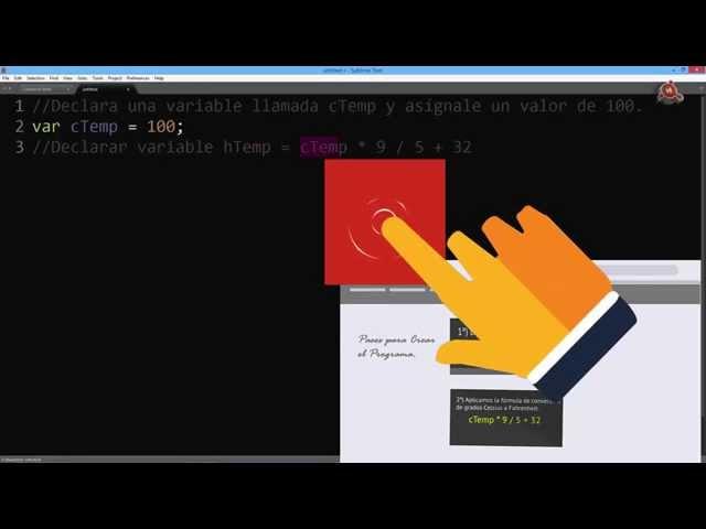 09.- Curso de JavaScript para principiantes. Primer Programa completo.