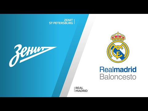 Zenit St Petersburg - Real Madrid Highlights | Turkish Airlines EuroLeague, RS Round 28