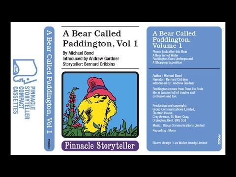 A Bear Called Paddington Volume 1 read by Bernard Cribbins (1975)