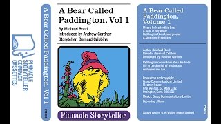 Скачать A Bear Called Paddington Volume 1 Read By Bernard Cribbins 1975