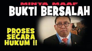 Download Video MINTA MAAF FADLI ZON SUDAH BASI.....BUKTI DIA SALAH...PROSES  HUKUM MP3 3GP MP4