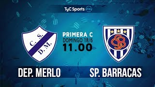 Dep. Merlo vs Sportivo Barracas full match