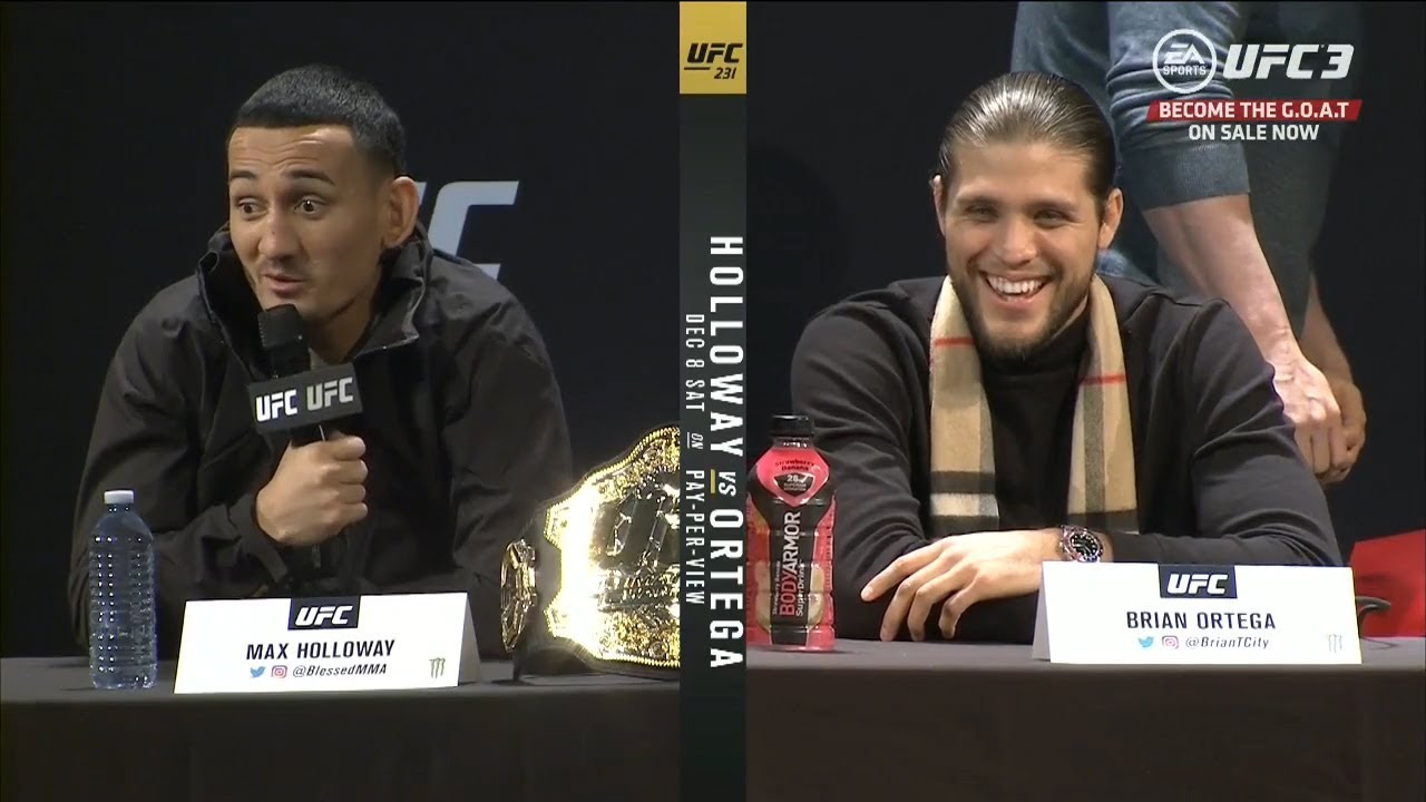 UFC 231: Pre-fight Press Conference Highlights